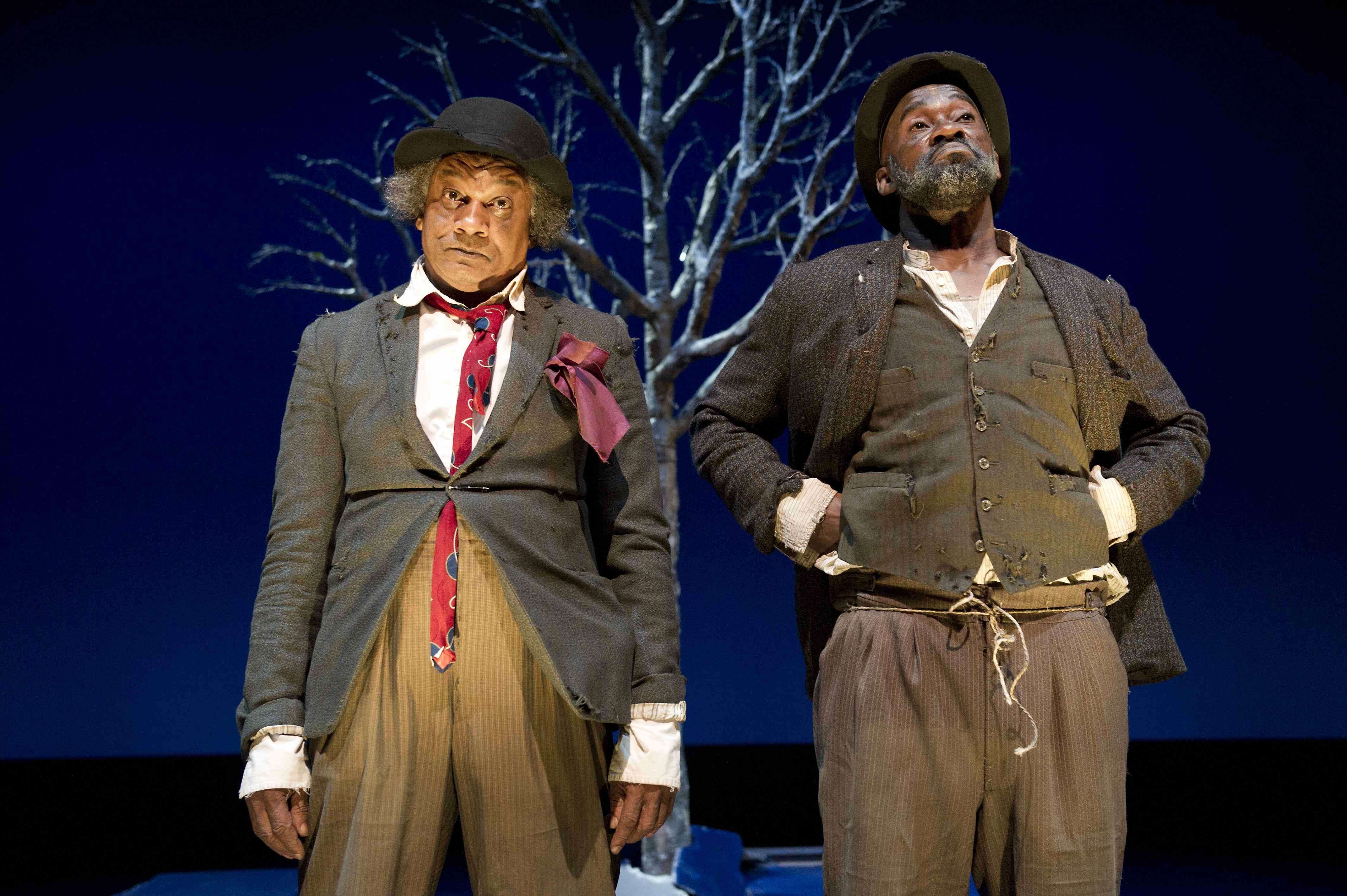 Who is Godot in the play Waiting for Godot?