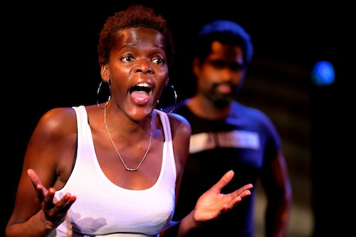 Sheila Atim in 'Klook's Last Stand' at Park Theatre (c) Arnim Friess