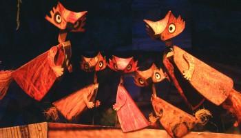 Fantastic Mr Fox Little Angel Theatre