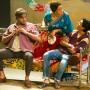 Sartaj Garewal- Mahadeo Waghekar, Stephanie Street - Asha Waghekar, Gavi Singh Chera- Rahul Waghekar Behind the Beautiful Forevers image by Richard Hubert Smith2