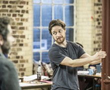James McAvoy - The Ruling Class - Rehearsal Images - Photo By Marc Brenner -1006