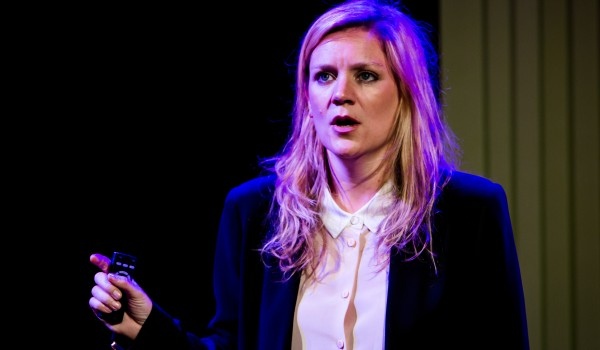 Olivia Poulet in Product by Mark Ravenhill, Arcola, 27 April - 24 May, courtesy of Richard Davenport, 5