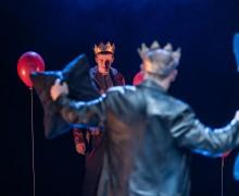Alex Austin and John Biddle, Henry the Fifth Unicorn Theatre, Photo Manu...