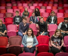 Young Critics Image with Andrew Haydon- photo from Adrienne Photography (2)