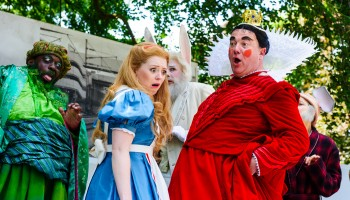 Opera Holland Park - Alice's Adventure's in Wonderland (July 2014) (c) Alex Brenner, no use without credit permitted (_D3C8503)