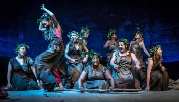 Cast of Bakkhai. Almeida Theatre. Credit Marc Brenner.jpg