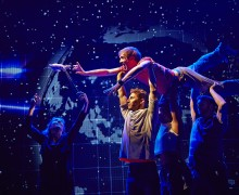 THE CURIOUS INCIDENT OF THE DOG IN THE NIGHT-TIME London Cast 2014/15