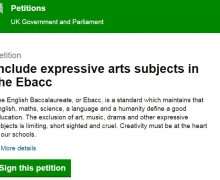 EBACC Petition
