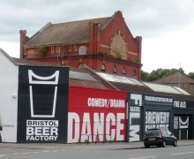 Bristol Theatre forced to close.