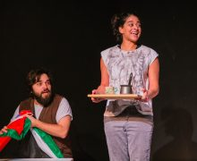 Hassan Abdulrazzak, Palestine, Israel, And Here I Am, Trump in Palestine, Donald Trump, US Elections, politics, Shubbak Festival, Arcola Theatre, Theatre503