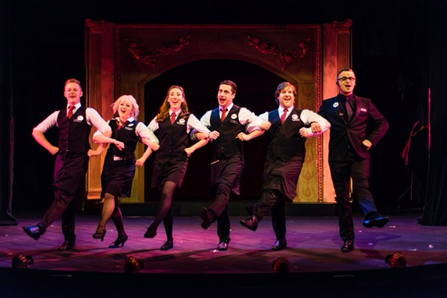 Review Ushers The Front Of House Musical Charing Cross Theatre - Front of house theatre
