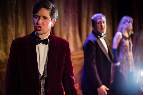Review la traviata soho theatre a younger theatre for Farcical opera