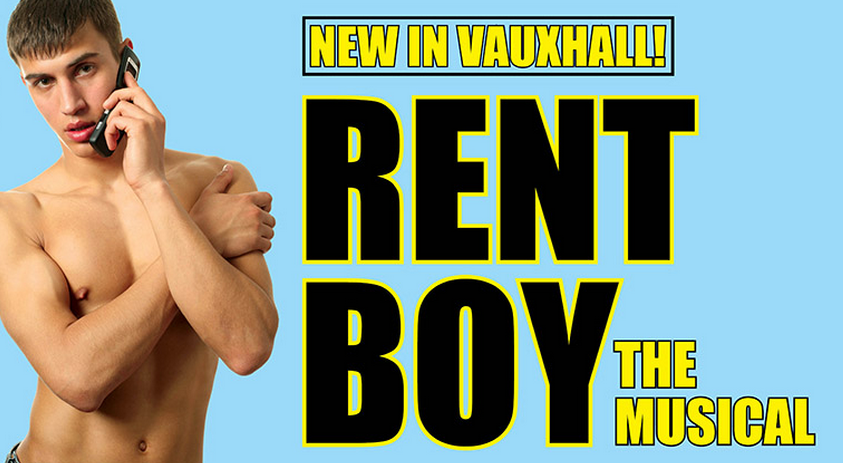 review rent boy the musical above the stag theatre a