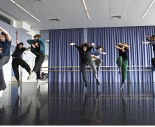Shechter Junior in Rehearsal 2 - Chien-Ming Chang
