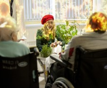 London theatre installation aims to help people suffering with dementia