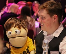 Ventriloquist James Rowney (and Little Jim)