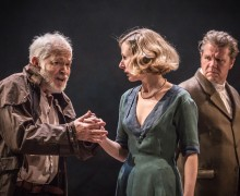 King Lear (Michael Pennington, Sally Scott and Shane Attwooll)