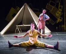 Pinocchio, Sadler's Wells, Jasmin Vardimon, Physical Theatre, Dance, Contemporary Dance, Children's Theatre, Children's Dance