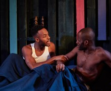 Boy with Beer, Kings Head Theatre, Paul Boakye, Harry Mackrill, Enyi Okoronkwo, Chin Nyenwe, LGBT