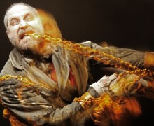 Christmas Carol, Jacob Marley, Brother wolf, James Hyland, New Wimbledon Theatre