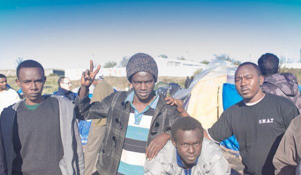 Loren O'Dair, Crew For Calais, Still Waiting, VAULT Festival 2017, Vault Festival, The Vaults, refugee crisis, politics, John Biddle, Dom Coyote, Refugee Rights, activism