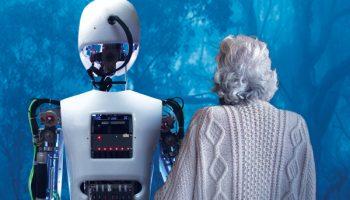 Silicone the robot at Pleasance Theatre