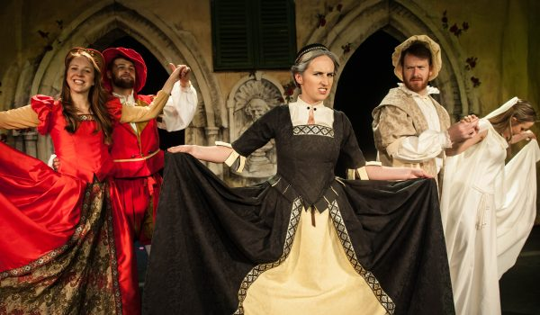 Leicester Square Theatre, Shit-faced Shakespeare, Rob Smythson, John Sebastian Mitton
