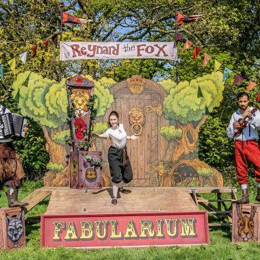 National Rural Touring Forum, Spot On Lancashire, Cheshire Rural Touring Arts, The Chef Show, Blind Date, Churchfitters, Reynard the Fox, The Fabularium, rural theatre, regional theatre