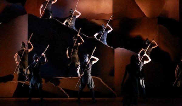 Hong Kong Dance Company, The Legend of Mulan, Hong Kong Economic and Trade Office, Hong Kong Special Administrative Region, Southbank Centre, Yang Yuntao, Yuen Hon-wai, Pan Lingjuan, Matthew Ma