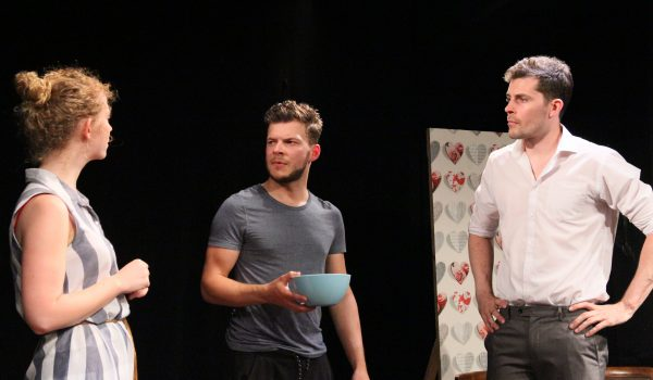 The English Heart, Etcetera Theatre, Brexit, Anya Williams, Jake Williams, Andrew Jardine