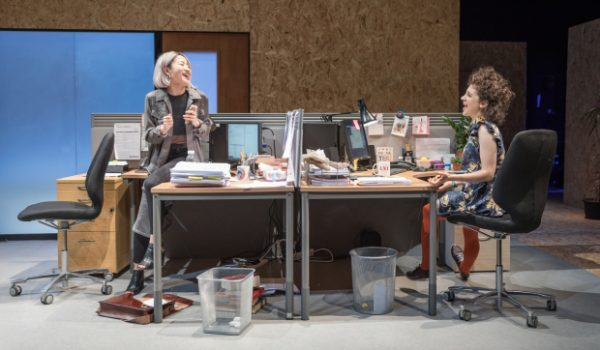 An Octaroon, Branden Jacobs Jenkins, Gloria, Hampstead Theatre, Vineyard Theatre, Michael Longhurst, Amadeus, National Theatre, Constellations, Royal Court, Lizzie Clachan, Bo Poraj, Kae Alexander, Bayo Gbadamosi, Colin Morgan, Sian Clifford, Ellie Kendrick