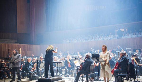 Royal Festival Hall, ENO, Simone Young, Gwyn Hughes Jones, Matthew Rose, English National Opera Chorus, Elgar