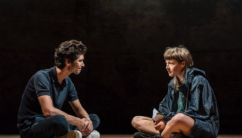 Almeida Theatre, Against, Christopher Shinn, Ben Whishaw, Kevin Harvey, Emma D'Arcy