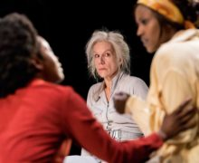 Juliet Stevenson, Wings, Young Vic, Johan Persson