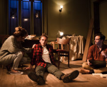 Finborough Theatre, Keith Bunin, Kazia Pelka, Michael James, Mateo Oxley