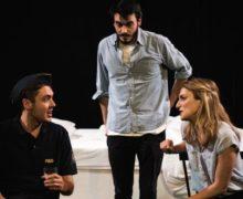 Edinburgh Fringe Festival, Happy Yet? Katie Berglöf, Courtyard Theatre, Above the Moon Productions, Andrew Ioannou, David Beatty, Minnie Murphy