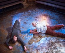 Christopher Colquhoun (Eugene) Nicola Hughes (Alma) Yellowman at the Young Vic © Tatenda Nyamande