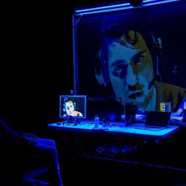 The Believers Are But Brothers by Javaad Alipoor at the Bush Theatre. Photo: The Other Richard